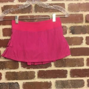 Ivivva Set the Pace pink skirt